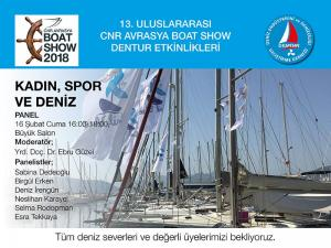 SEA TALKS: KADIN, SPOR VE DENİZ PANELİ